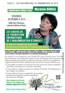 Conférence-débat avec Michèle Rivasi