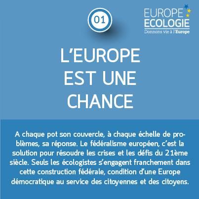 L'Europe est une chance