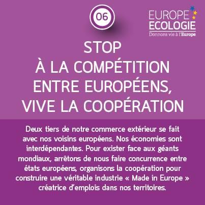 Stop à la compétition vive la coopération