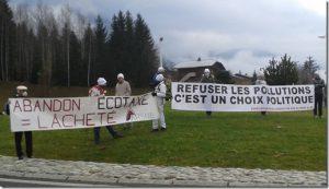 Manifestation des bonnets blancs